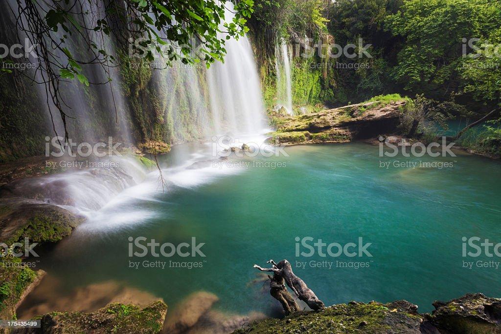 Kursunlu Waterfall royalty-free stock photo