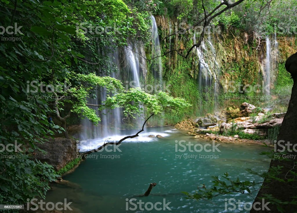 Kursunlu waterfall 免版稅 stock photo