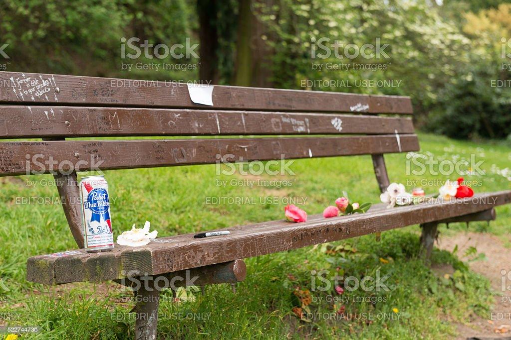 Kurts Bench stock photo