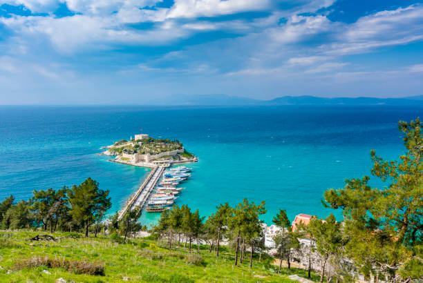 Kusadasi in Turkey stock photo