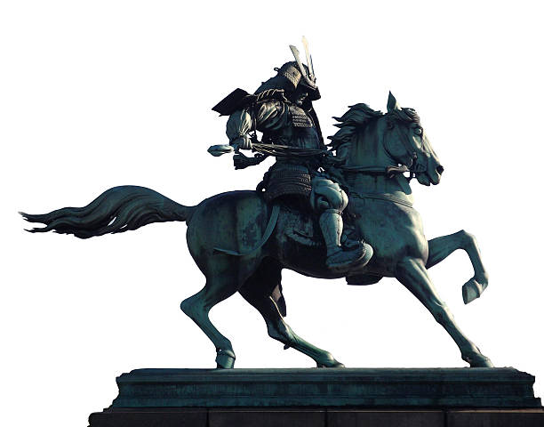 Kusunoki Masashige Statue Tokyo stock photo