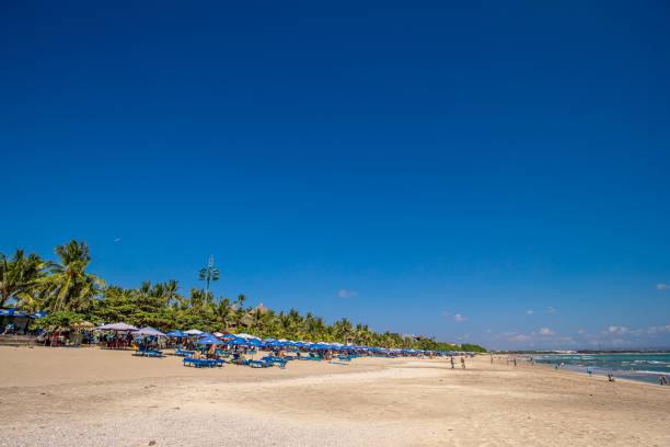 Kuta Beach Bali stock photo