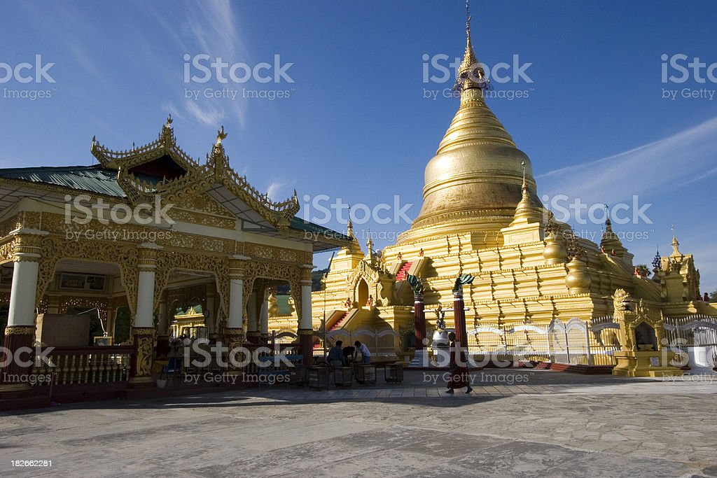 Kuthodaw Paya stock photo