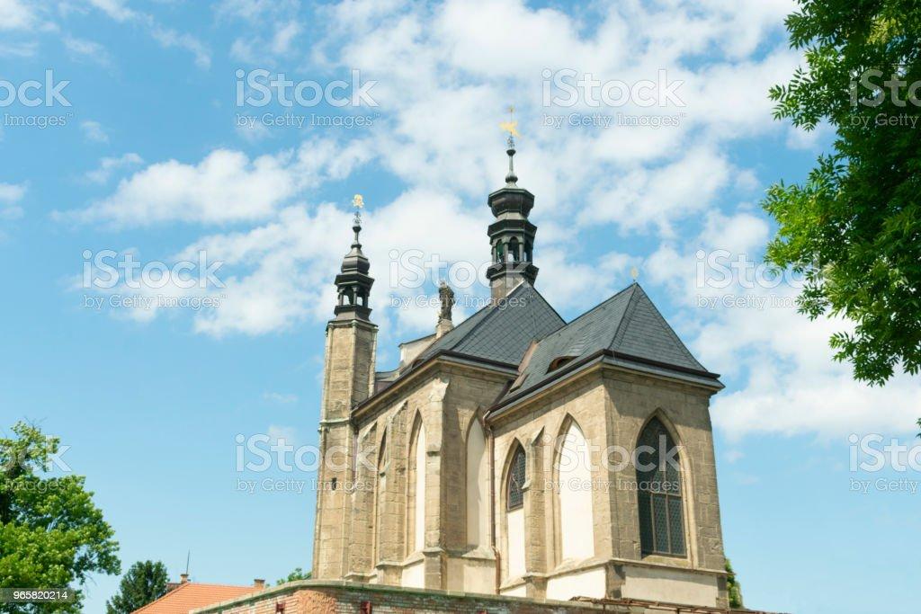 Kutna Hora, Tsjechië, Kapel van All Saints met de Kostanese - Royalty-free Anatomie Stockfoto