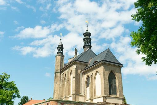 Kutna Hora Tsjechië Kapel Van All Saints Met De Kostanese Stockfoto en meer beelden van Anatomie