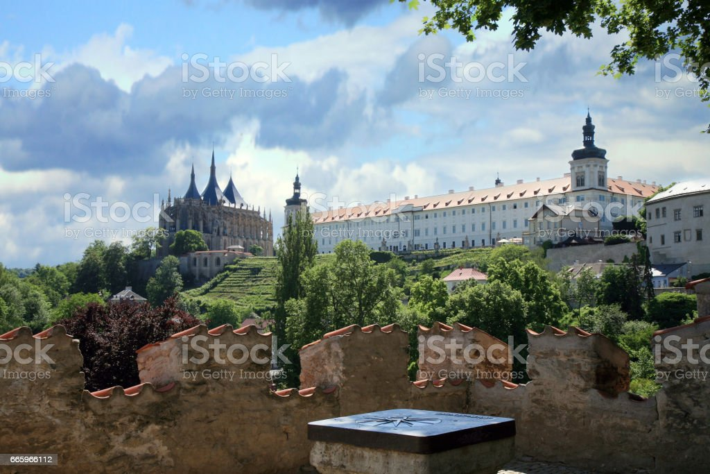 Kutna Hora, Czech Republic. stock photo