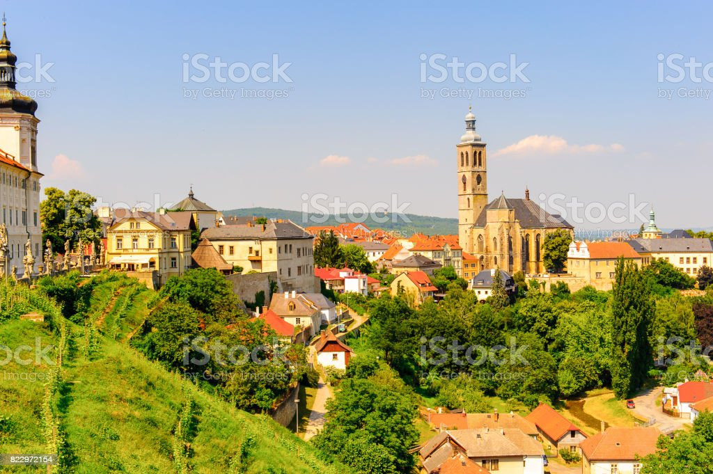 Kutna Hora, Czech Republic stock photo