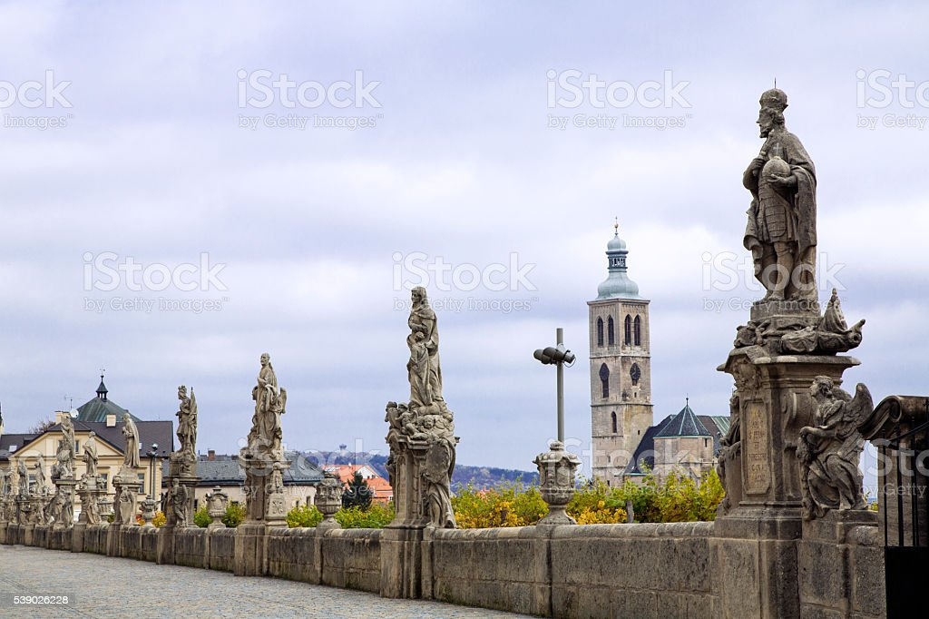 kutna hora stock photo