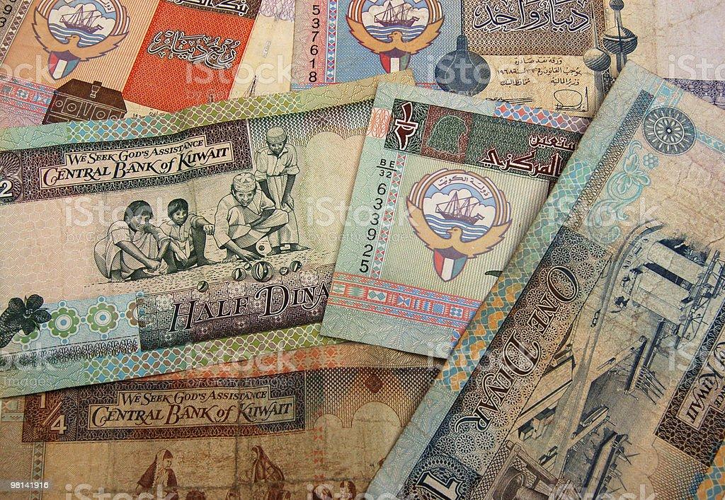 Kuwait sfondo di cassa foto stock royalty-free