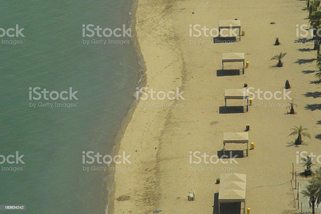 Kuwait city: Beach royalty-free stock photo