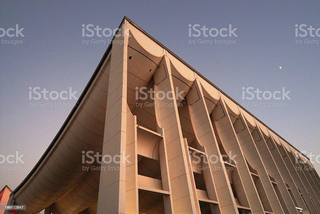 Kuwait City Parliament Building Architect Jørn Utzon Stock