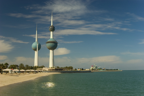 Kuwait Towers Stock Photo - Download Image Now