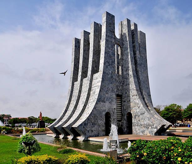 Kwame Nkrumah Memorial Park stock photo