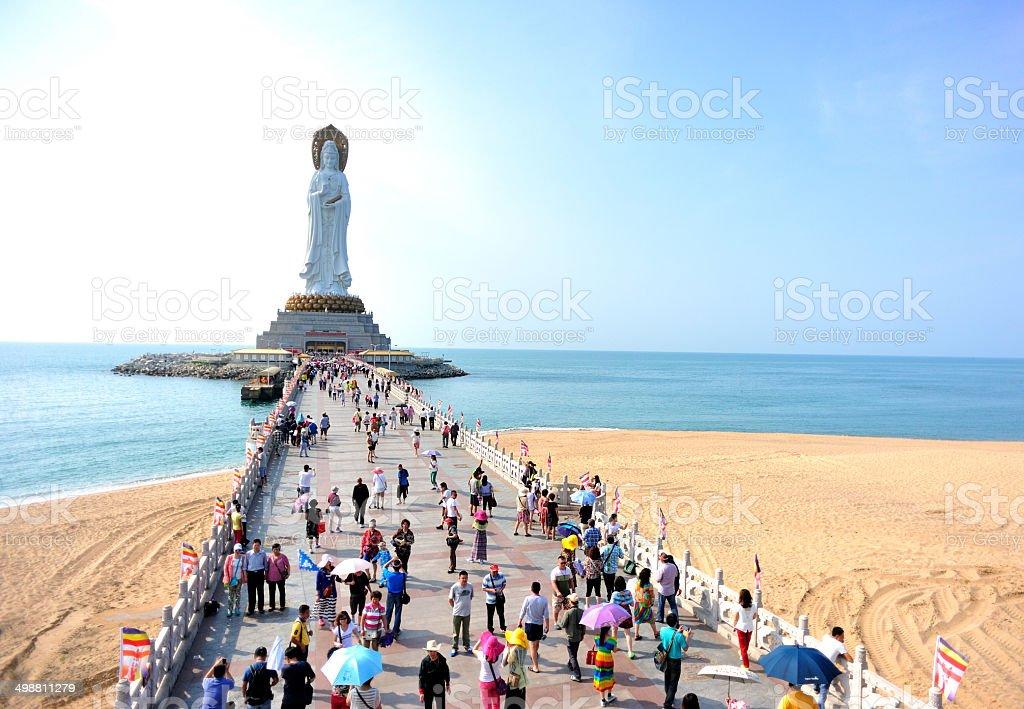 kwan-yin Statua w Wyspa Hajnan – zdjęcie