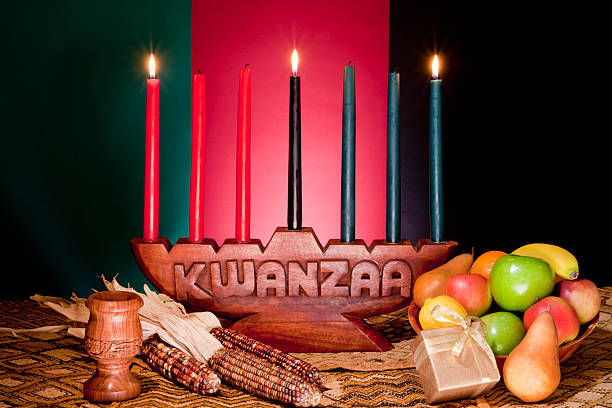 kwanzaa - african american holiday - kwanzaa stock pictures, royalty-free photos & images