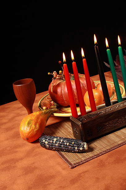 kwanzaa angle - kwanzaa stock pictures, royalty-free photos & images