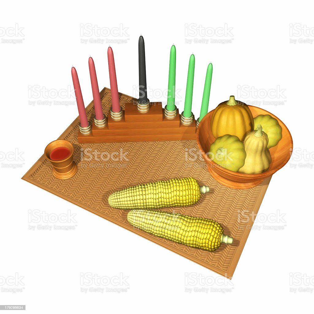 kwanzaa royalty-free stock photo
