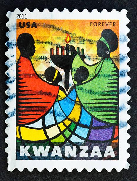 クワンザ stamp - クワンザ ストックフォトと画像