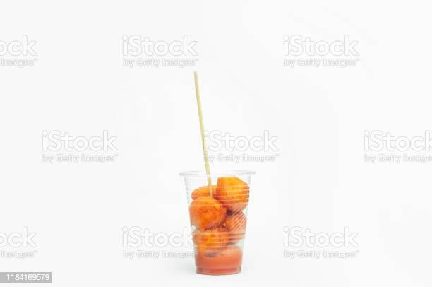 Kwek kwektokneneng a filipino tempuralike street food in plastic cup picture id1184169579?b=1&k=6&m=1184169579&s=612x612&h=dkdxr8avlno2alvzo7app1ktll6 2ttmgxj2gegnrvg=