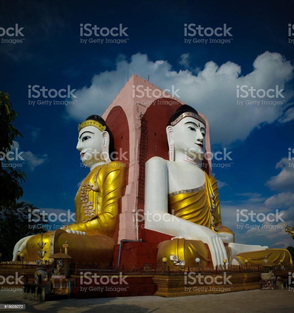 Kyaikpun pagoda, Bago stock photo