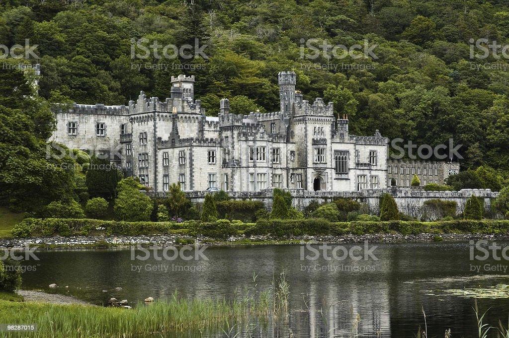 Kylemore Abbey Castle,Connemara,Co.Galway.Ireland stock photo