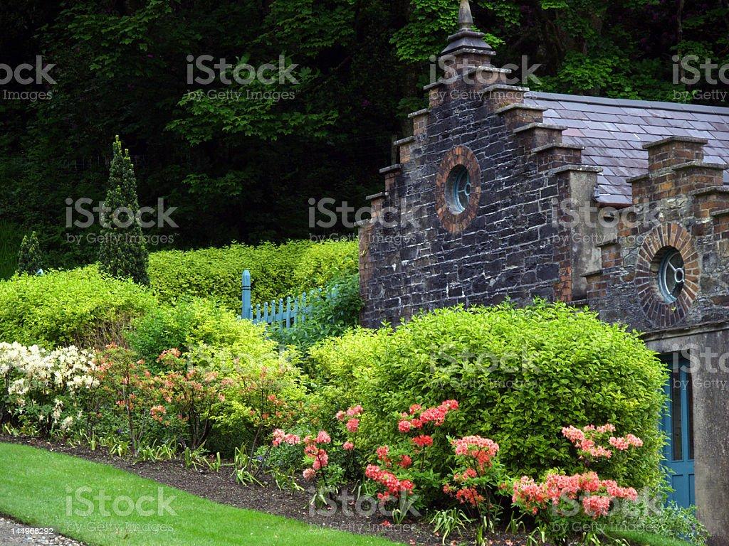kylemore abbey royalty-free stock photo