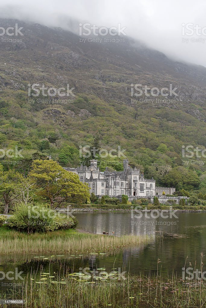 Kylemore Abbey stock photo