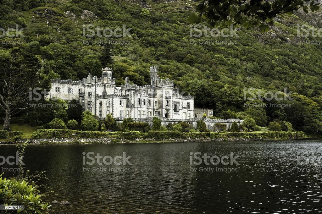 Kylemore Abbey,Connemara,Co.Galway.Ireland royalty-free stock photo