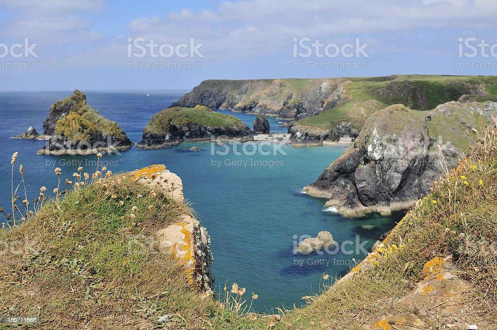 Kynance Cove stock photo