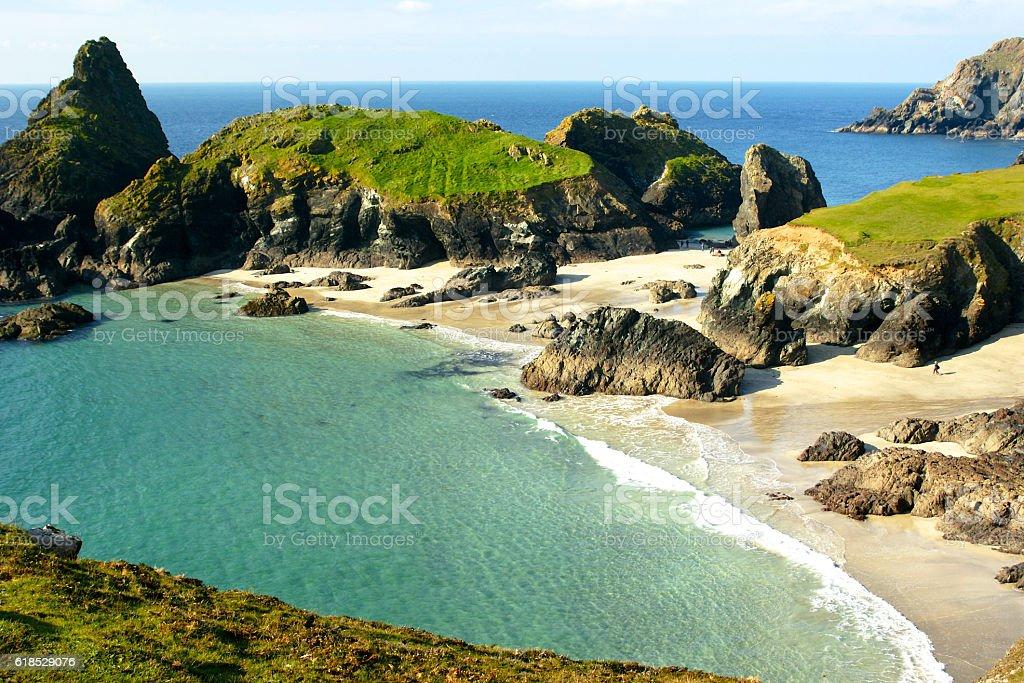Kynance Cove,The Lizard,Cornwall,UK stock photo