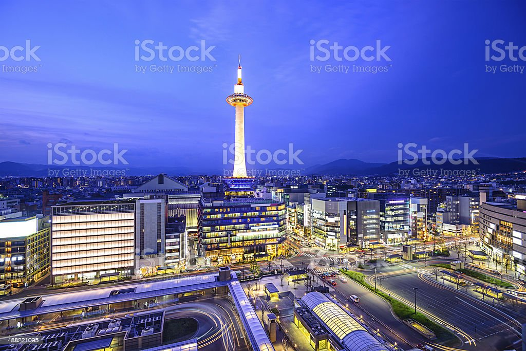 Kyoto, Japan stock photo