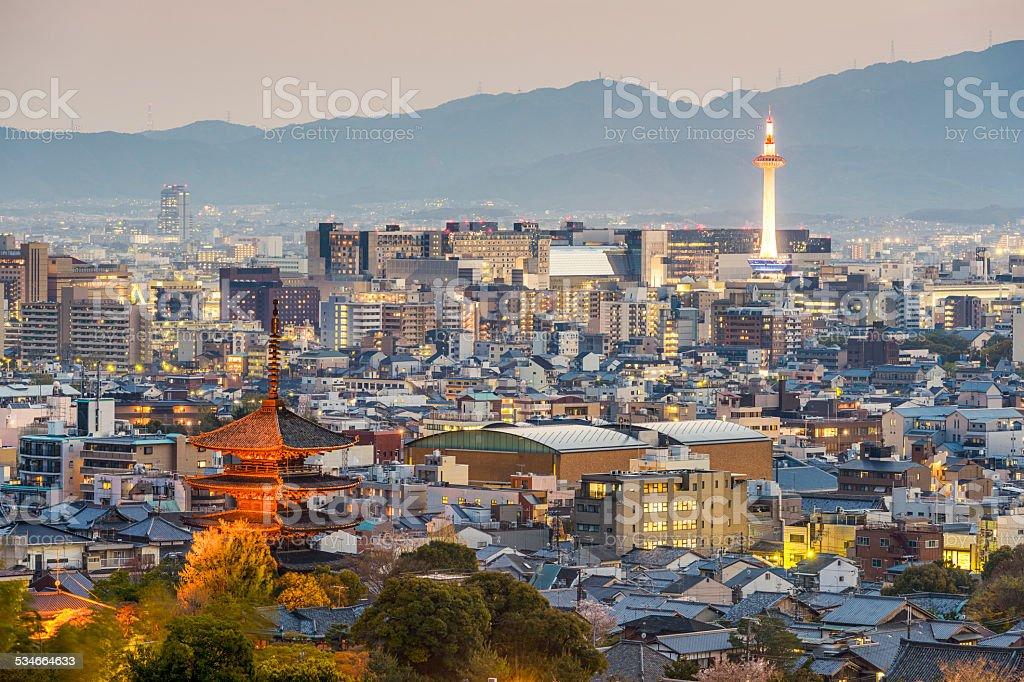 Kyoto, Japan - Lizenzfrei 2015 Stock-Foto