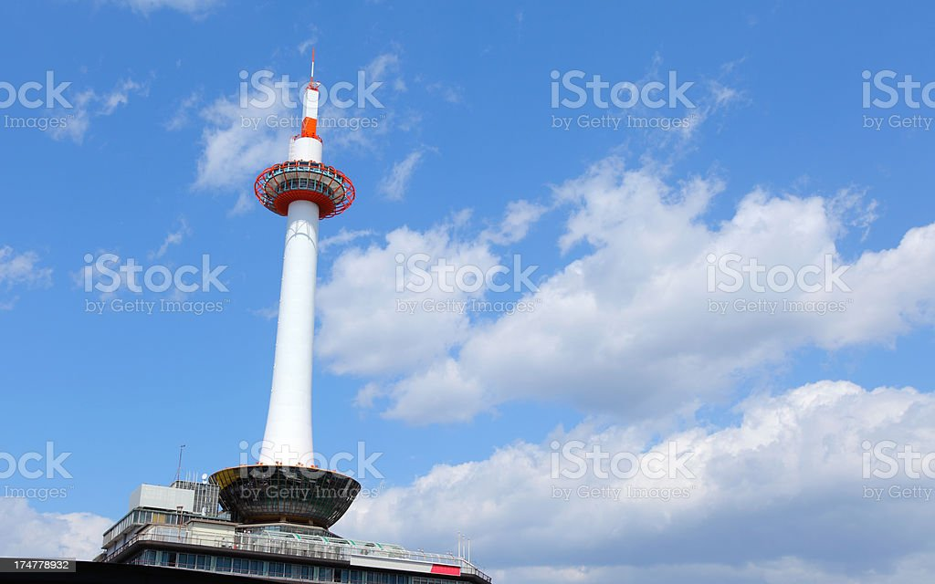 Kyoto Tower royalty-free stock photo
