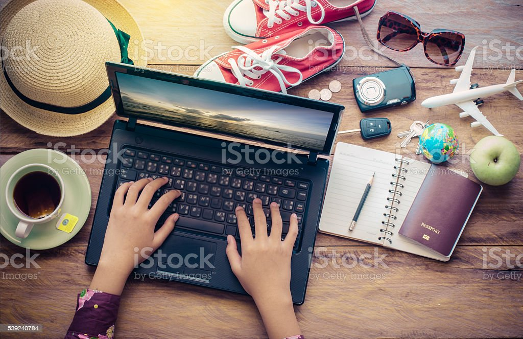 l planning placed on a wooden table. royalty-free stock photo