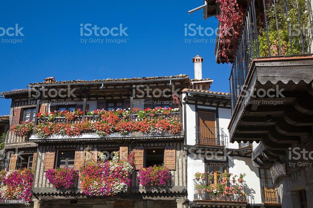 La Alberca stock photo