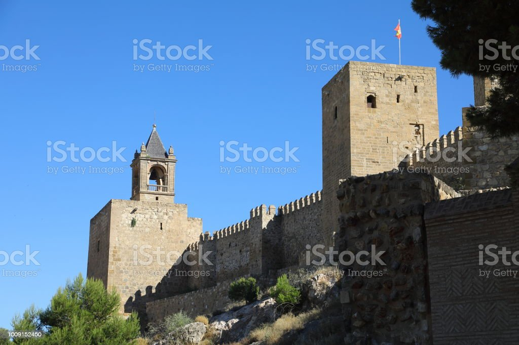 La Alcazaba, Antequera - Malaga Spain stock photo