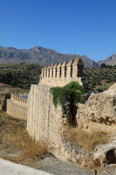 la alcazaba, antequera - malaga spain - pejft stock photos and pictures