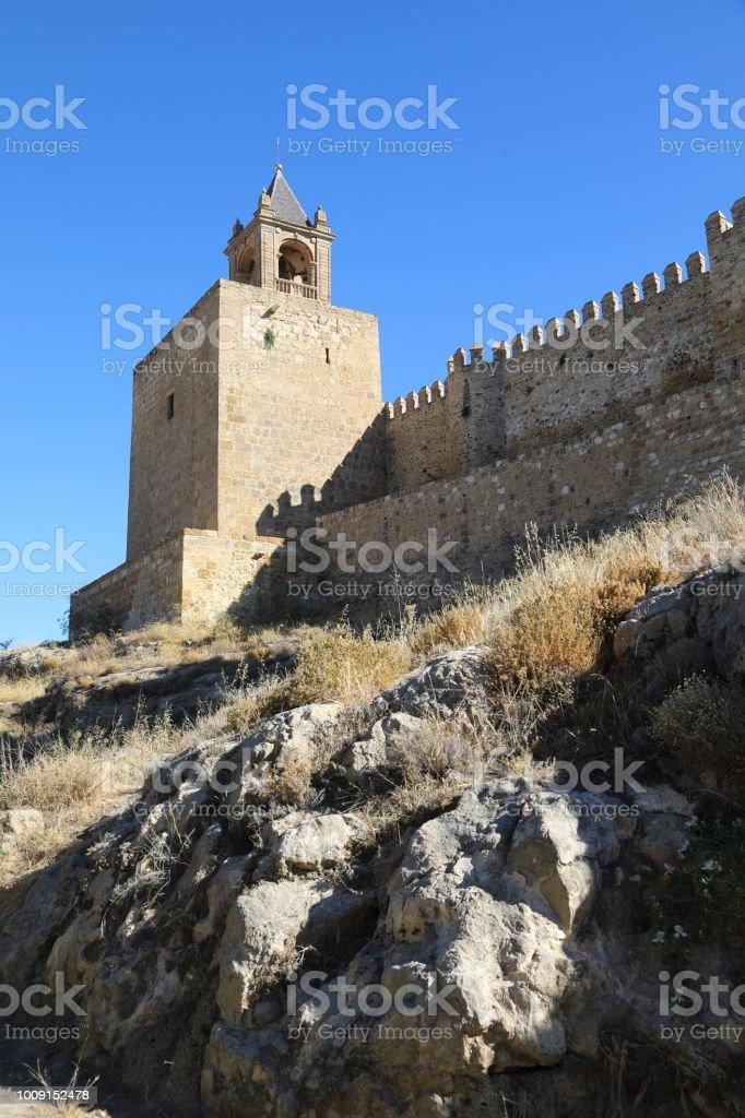 La Alcazaba, Antequera - Malaga Spain stock photo