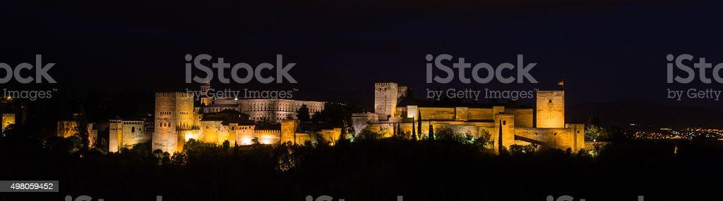 La Alhambra, Granada, Spain stock photo