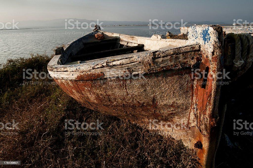 La barca stock photo