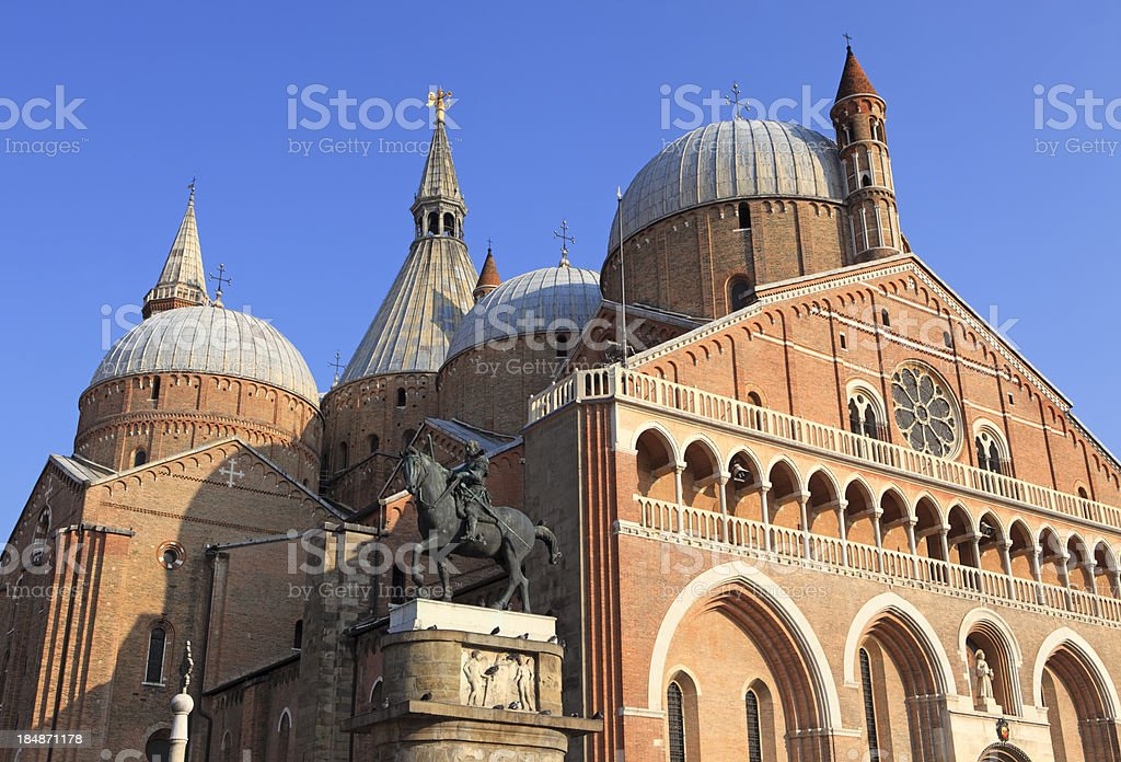 La Basilica di Sant'Antonio in Padova, Veneto Italy royalty-free stock photo