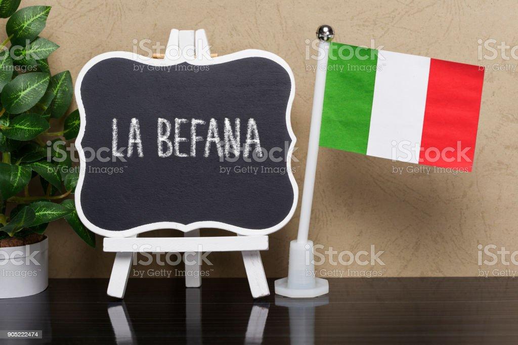 La Befana,national holiday in Italy - foto stock