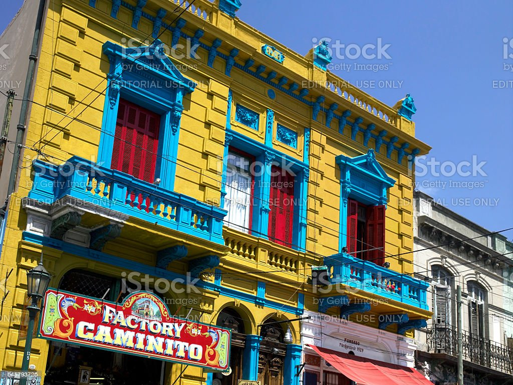 La Boca - Buenos Aires - Argentina - South America stock photo