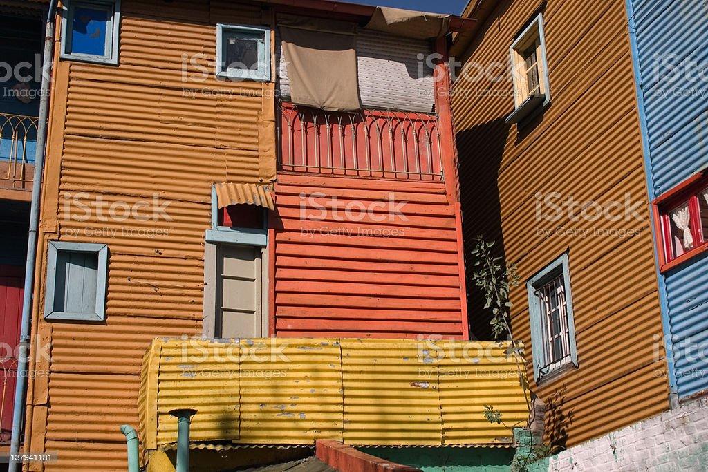 La Boca - Buenos Aires royalty-free stock photo