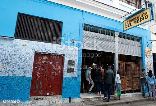 istock La Bodeguita del Medio in Havana, Cuba 670920542