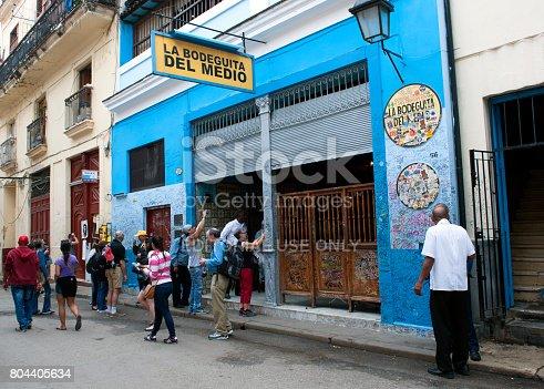 istock La Bodeguita del Medio in Havana, Cuba 804405634
