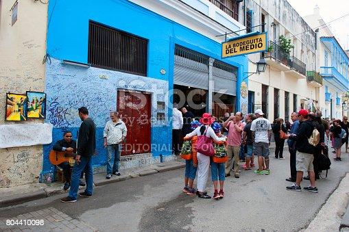 istock La Bodeguita del Medio in Havana, Cuba 804410098