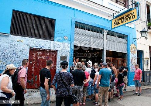 istock La Bodeguita del Medio in Havana, Cuba 804410418