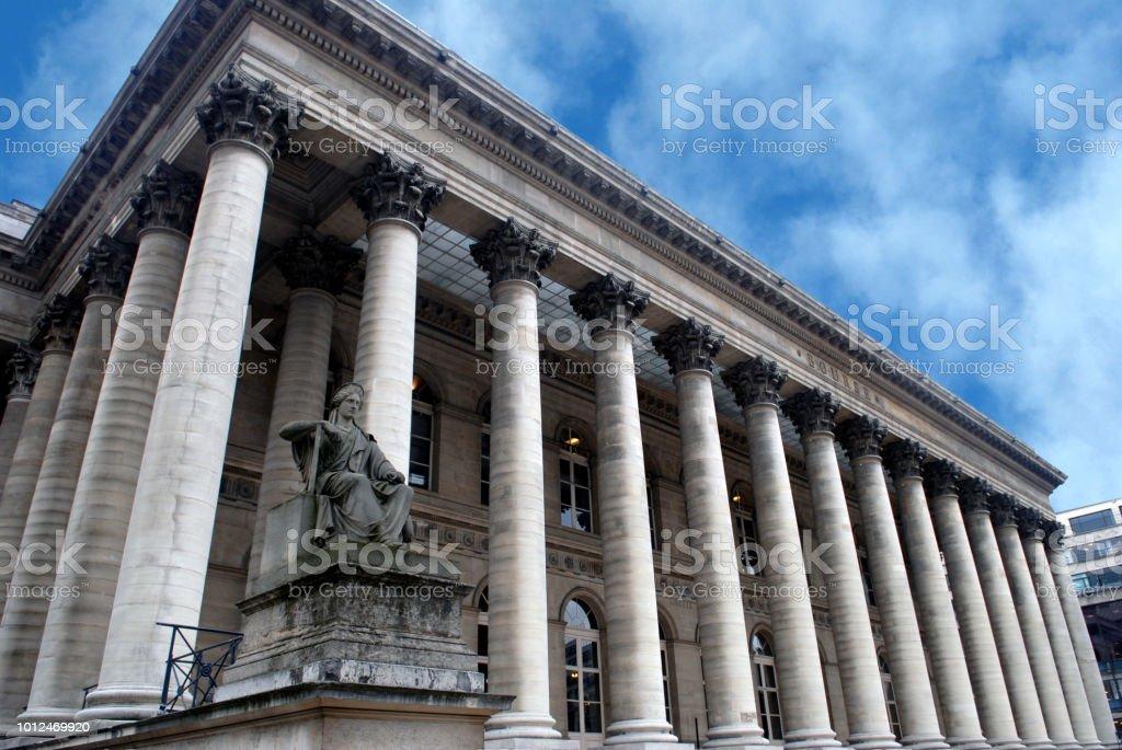 La bourse de Paris - Photo