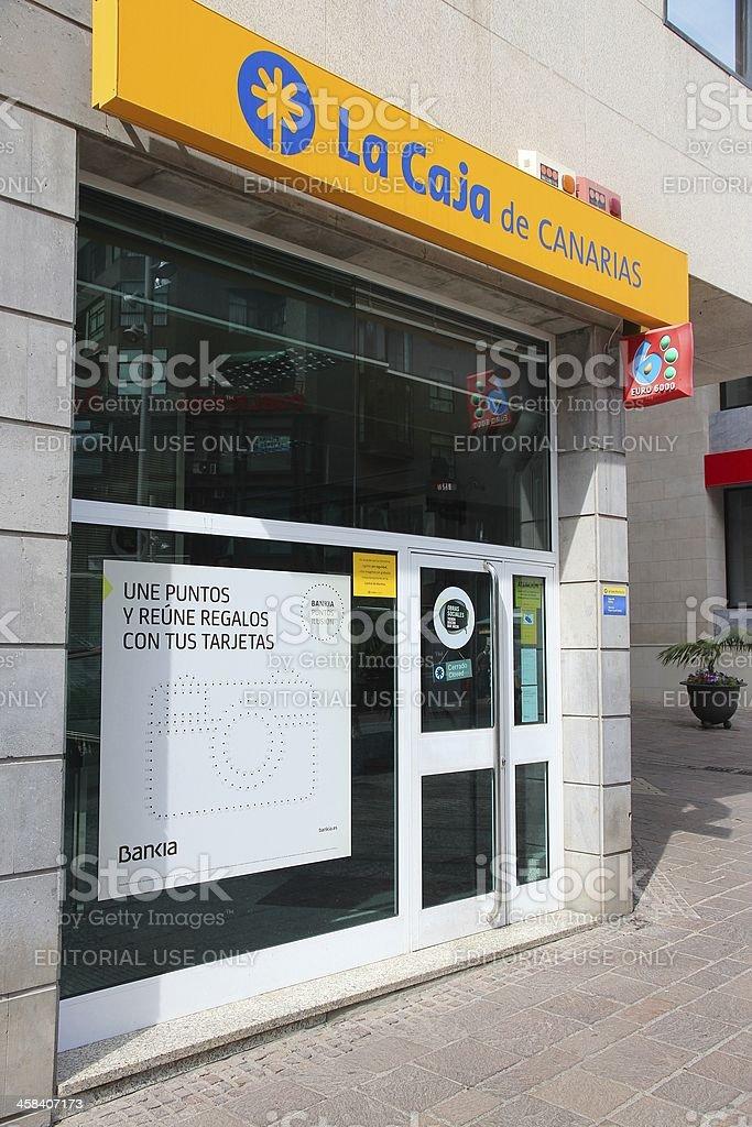 La Caja De Canarias-Bankia grupo - foto de stock